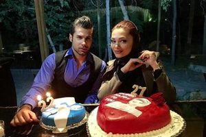 غافلگیری محسن فروزان در جشن تولد ۳۰ سالگی اش توسط همسرش