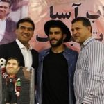 برخورد صمیمانه علی دایی در تمرین تیم ملی با امیر عابدزاده +تصاویر