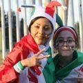 تصاویر دیدنی از حضور زنان در ورزشگاه آزادی برای تماشای بازی ایران و اسپانیا