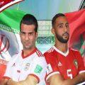 برد خاطرهانگیز یوزهای تیم ملی کشورمان مقابل مراکش در سن پترزبورگ+عکس