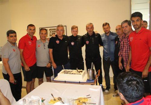 تقدیر بازیکنان پرسپولیس از برانکو