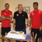 مراسم تقدیر بازیکنان پرسپولیس از برانکو در اردوی کرواسی +تصاویر