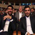 همسران بیرانوند و علیپور در مراسم برترین های لیگ +تصاویر