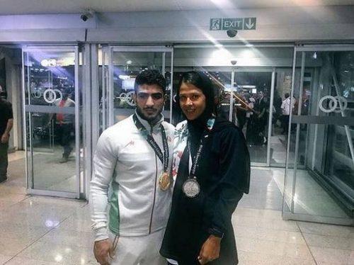 زوج ورزشکار ایرانی