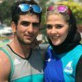 افتخار آفرینی زوج ورزشکار ایرانی در بازیهای آسیایی +تصاویر