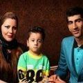 علیرضا بیرانوند دروازه بان تیم ملی در کنار همسرش و دخترش بارانا +تصاویر