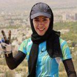 گریه های فرانک پرتو آذر دوچرخه سوار کشورمان پس از ناکامی +تصاویر
