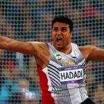 بازگشت غریبانه احسان حدادی ورزشکار ایرانی از بازی های آسیایی+تصاویر