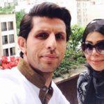 تولد همسر وحید طالب لو و دلنوشته وی برای همسرش +تصاویر