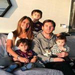 لیونل مسی و پسرش در بین ۸۶ هزار هوادار بارسا و اینتر +تصاویر