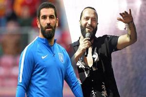 درگیری وحشتناک آردا توران بازیکن سابق بارسا با خواننده مشهور ترکیه! +تصاویر