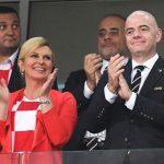 ملاقات ویژه رئیس جمهور خبرساز با اعضای تیم ملی فوتبال کرواسی +تصاویر