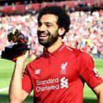 تمسخر راموس توسط محمد صلاح بازیکن لیورپول پس از شادی پس از گل +تصاویر