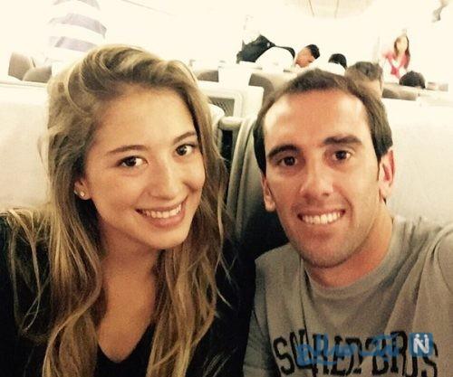 مراسم ازدواج دیگو گودین با دختر یک فوتبالیست سرشناس +تصاویر