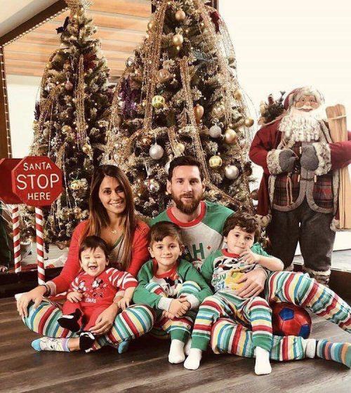 همسر و فرزندان لیونل مسی