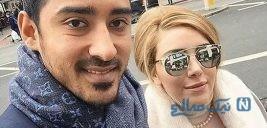رضا قوچان نژاد و پسرش در کنار خواننده محبوب ترکیه ابرو گوندش +تصاویر