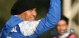 تقلید جالب علیرضا منصوریان از کیروش در انگیزه بخشی به بازیکنان +تصاویر