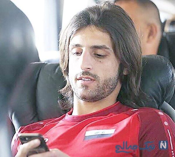 ستاره پرسپولیس در جشن تولد طارق همام هافبک استقلال +عکس