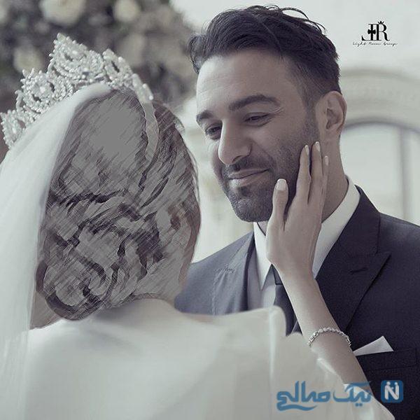مراسم عروسی حنیف عمران زاده در این قصر چقدر آب خورد؟ + عکس عروسی