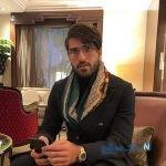 تولد همسر کریم انصاری فرد و تبریک عاشقانه وی به همسرش +تصاویر