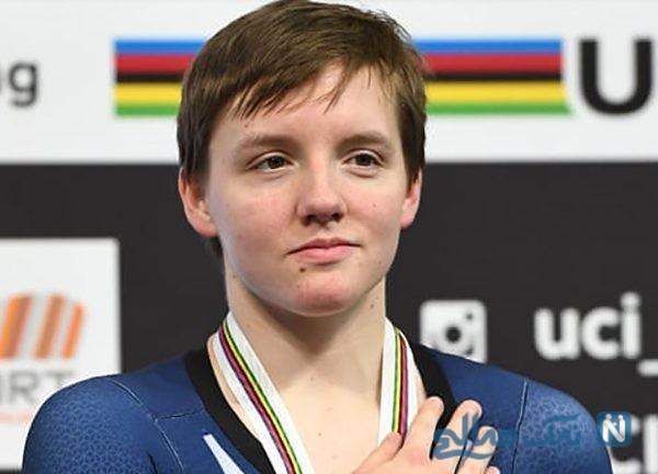 خودکشی کلی کاتلین قهرمان دوچرخه سواری دختران جهان +تصاویر