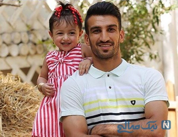 پست عاشقانه حسین ماهینی بازیکن پرسپولیس به مناسبت سالگرد ازدواجش! +تصاویر