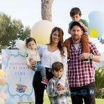 لیونل مسی با همسر و فرزندانش در مراسم ویژه غسل تعمید فرزندان فابرگاس +تصاویر