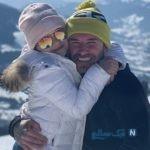 شوخی جالب دیوید بکهام فوتبالیست انگلیسی با همسرش ویکتوریا در روز تولدش +تصاویر