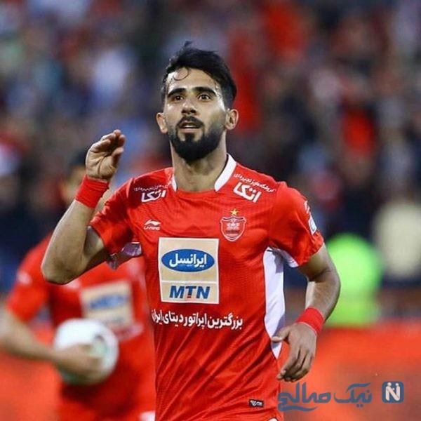 بشار رسن بازیکن پرسپولیس