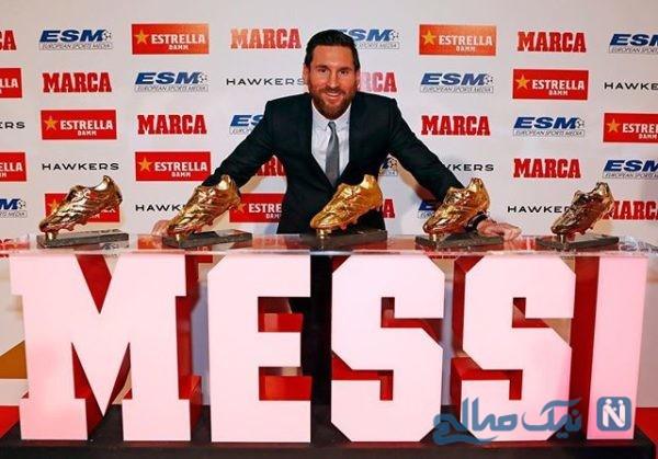 مسی ستاره بارسلونا