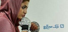 پیروزی تاریخی صدف خادم بوکسور زن ایرانی در فرانسه +تصاویر