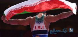 تصمیمی عجیب که مدال طلا را از محمدباقر یخکشی قهرمان کشتی ایران گرفت +تصاویر