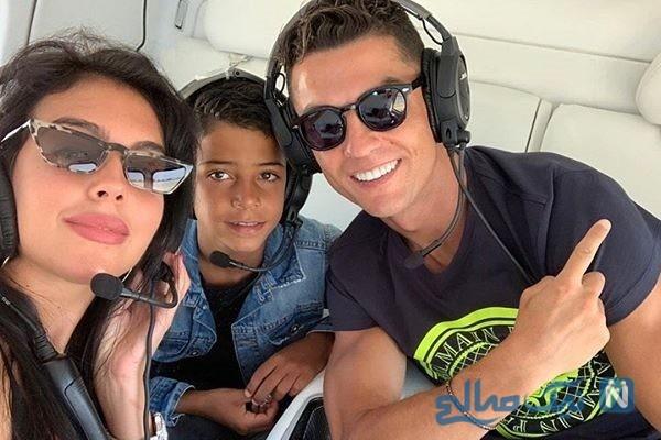 تعطیلات به یادماندنی رونالدو و خانواده اش در یک قایق تفریحی لاکچری +تصاویر