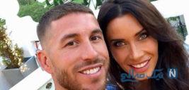 هدیه جالب راموس و همسرش به مهمانان مراسم ازدواجش +تصاویر