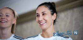 سارا دورسون خواجه دختر ایرانیتبار در جام جهانی زنان ۲۰۱۹ +تصاویر