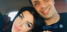 جشن تولد سپهر حیدری و آرزوی همسرش آرام برای وی +تصاویر