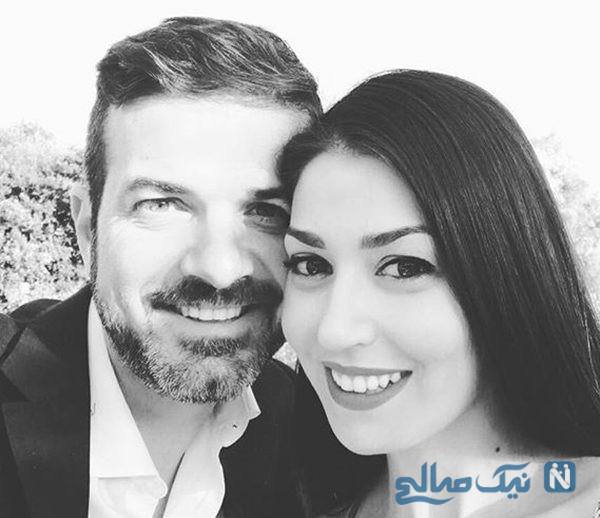 پیام همسر استراماچونی سرمربی استقلال به مناسبت سالگرد ازدواج شان +تصاویر