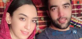 مراسم عروسی کیمیا علیزاده و حامد معدنچی ورزشکاران ایرانی +تصاویر
