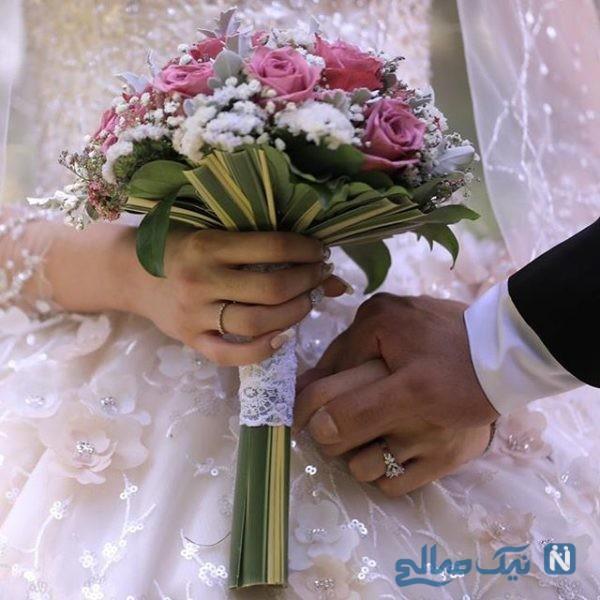 عروسی کیمیا علیزاده و حامد معدنچی