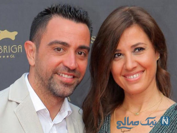 عکس های عروسی ژاوی هرناندز و همسرش نوریا به مناسبت سالگرد ازدواجش