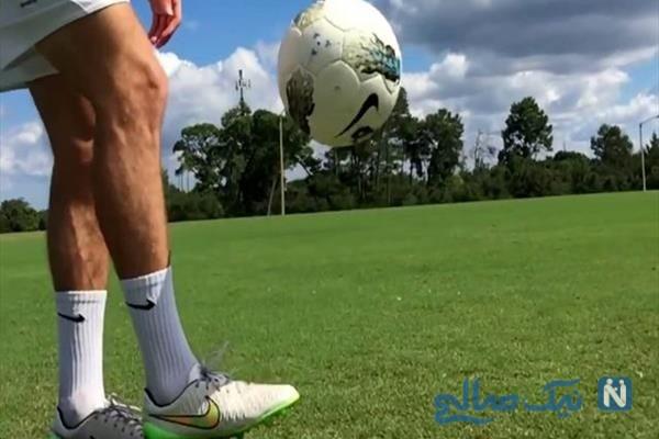 کیفیت توپ فوتبال با روپایی زدن های فوتبالیست مشهور زیر سوال رفت