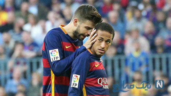پیکه مدافع بارسلونا