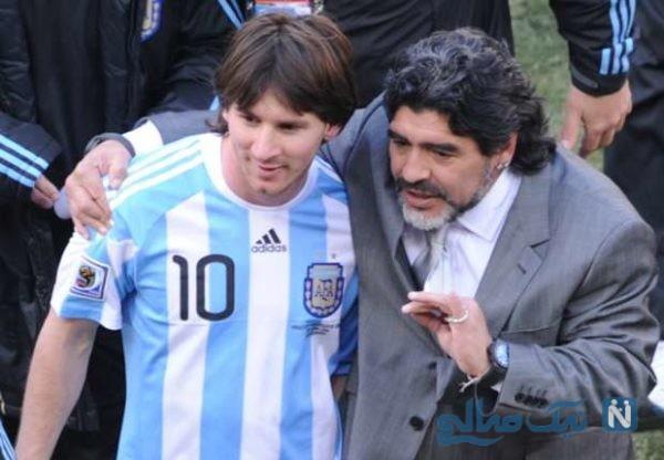 اسطوره فوتبال آرژانتین