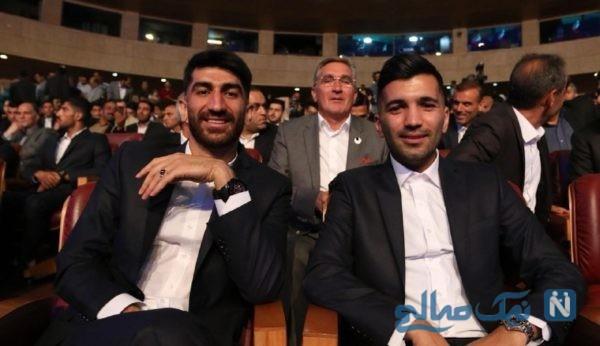 حواشی جنجالی مراسم برترین های فوتبال ایران + فیلم