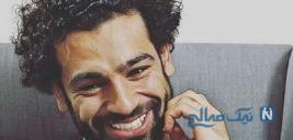 دیدار محمد صلاح ستاره لیورپول با پسری که بینی خود را برای دیدن او شکست +تصاویر
