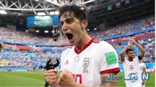 ژست های شادی پس از گل سردار آزمون سوژه عکاسان شد + عکس