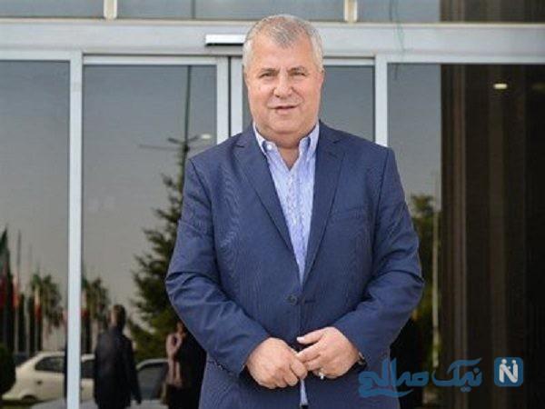 تصاویری از هیئت عزاداری علی پروین با حضور اهالی فوتبال