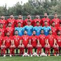 ژست های قهرمانانه بازیکنان تیم ملی ایران در تمرین دیروز + تصاویر