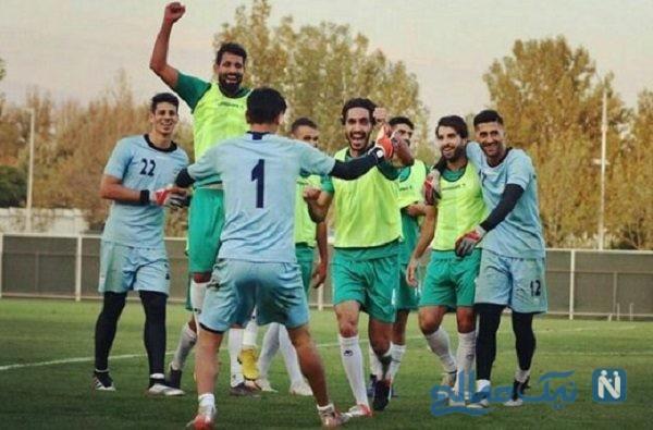 بازیکنان تیم ملی ایران