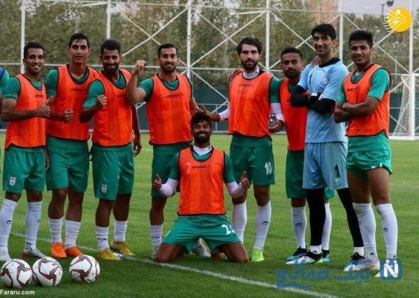 تیم ملی در اینستا